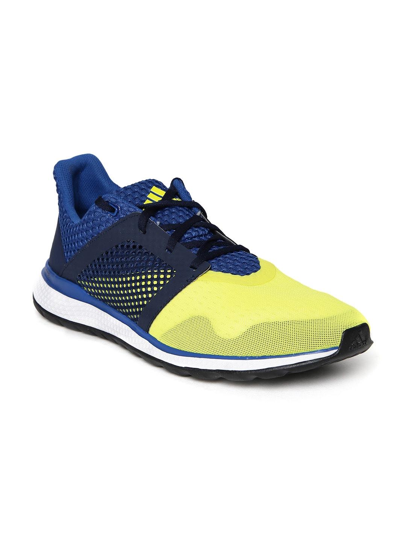 adidas aq3157 uomini energia gialla rimbalzi, 2 scarpe da corsa migliore prezzo