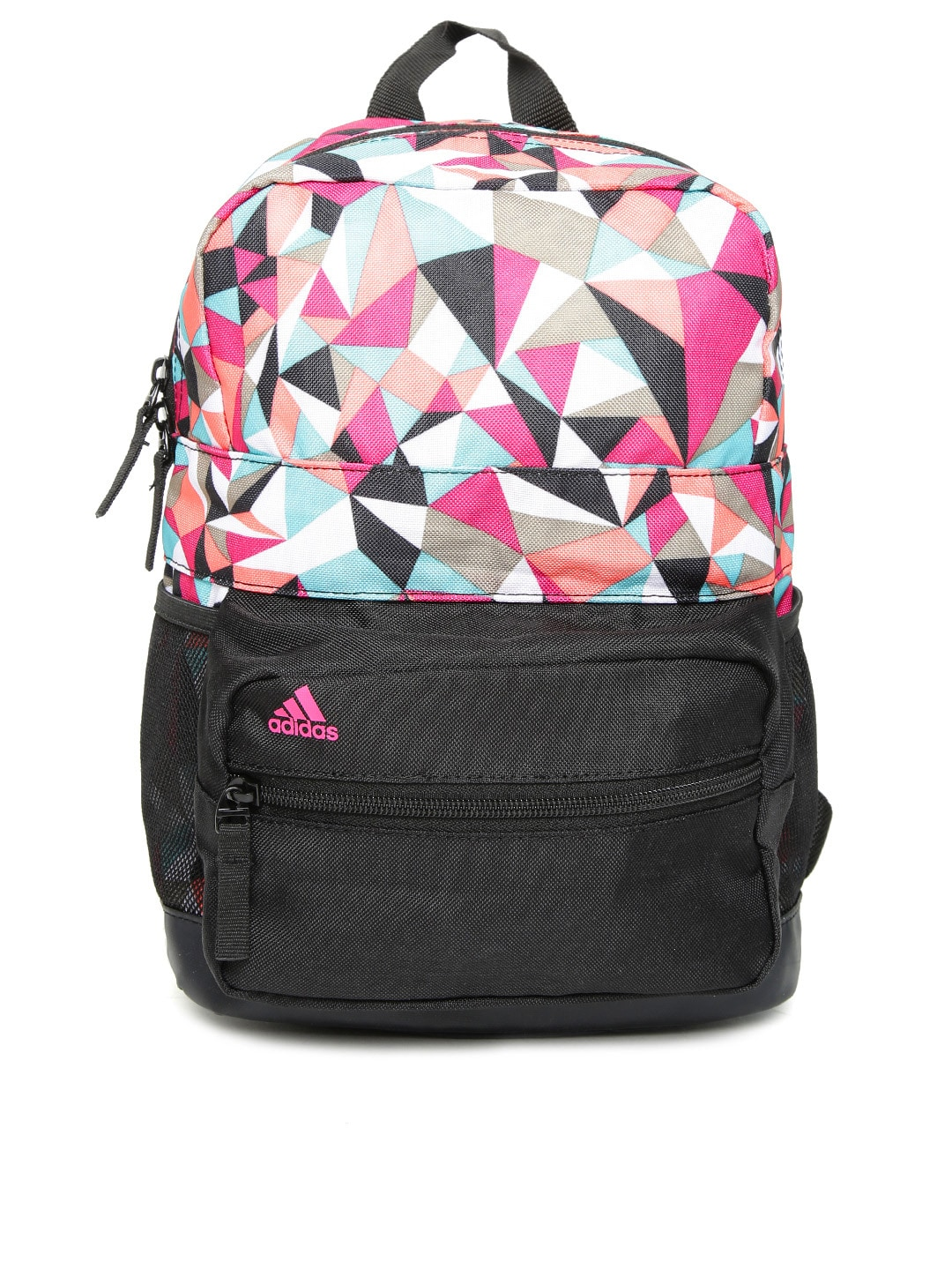 158a3edd811 Adidas ay3897 Kids Multicoloured Asbp Xs G1 Geometric Print Backpack- Price  in India