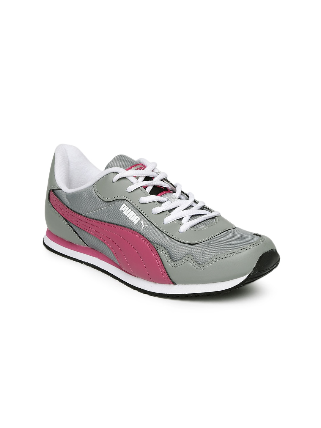cb5fe99cf9b8 Puma 36213302 Women Grey And Pink Casual Shoes - Best Price in ...