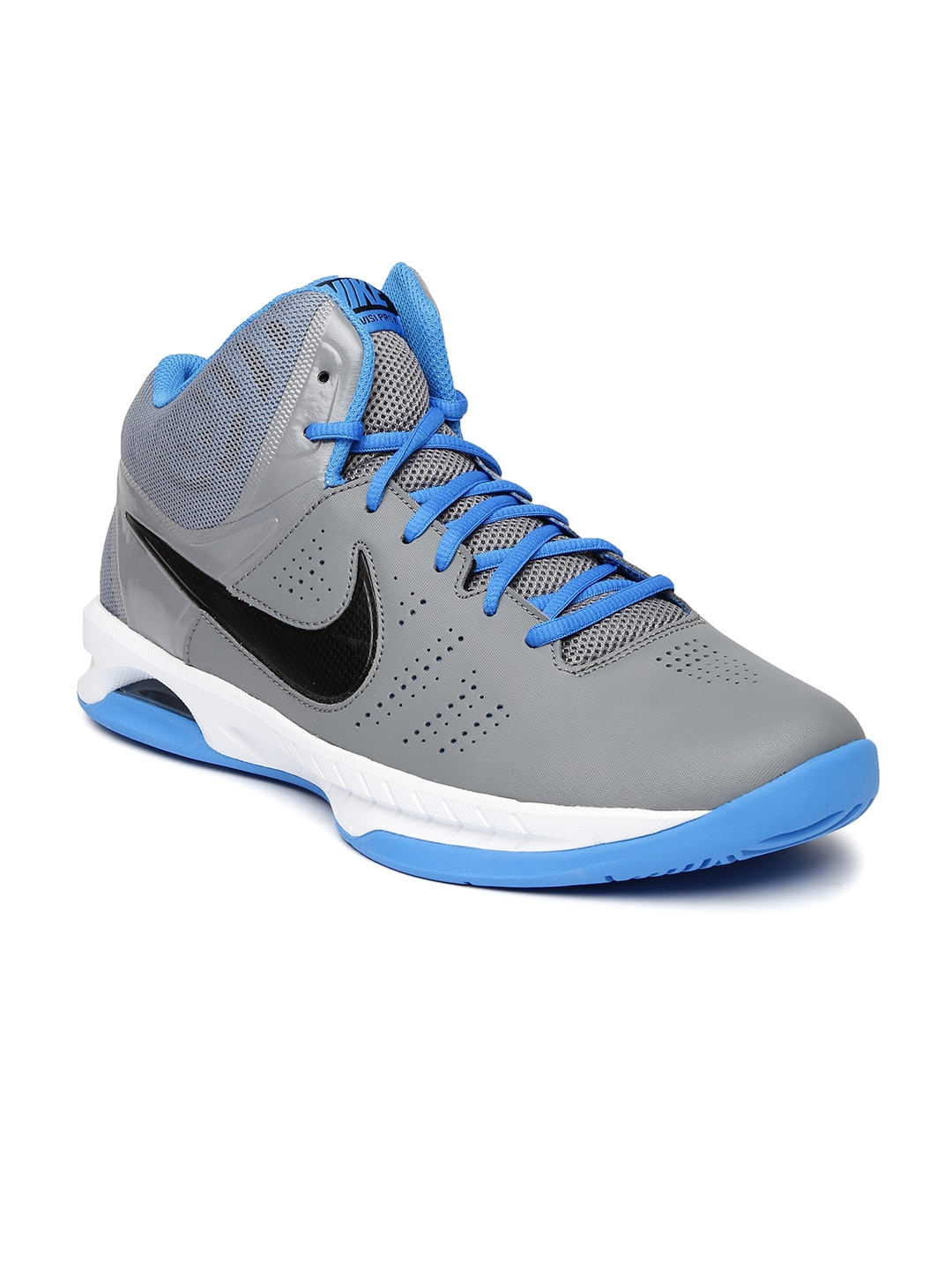 f7379cbd20b Nike 749167-010 Men Grey Air Visi Pro Vi Basketball Shoes- Price in India
