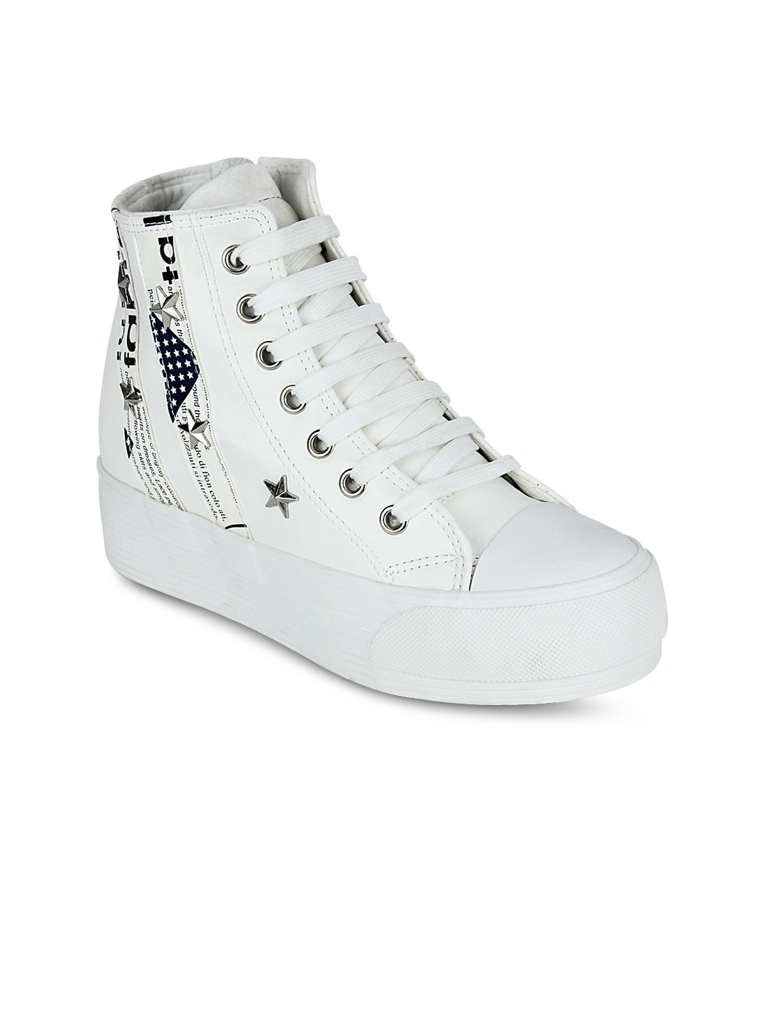 119645344a6 Get glamr lt-be-6200-white Women White Sneakers - Best Price in ...