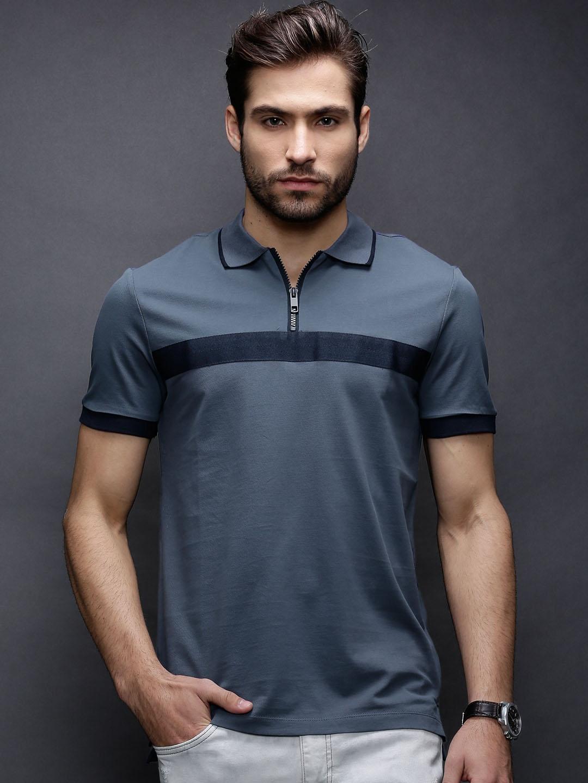 c8ba478d Antony morato mmks00787-7039 Blue T Shirt - Best Price in India ...