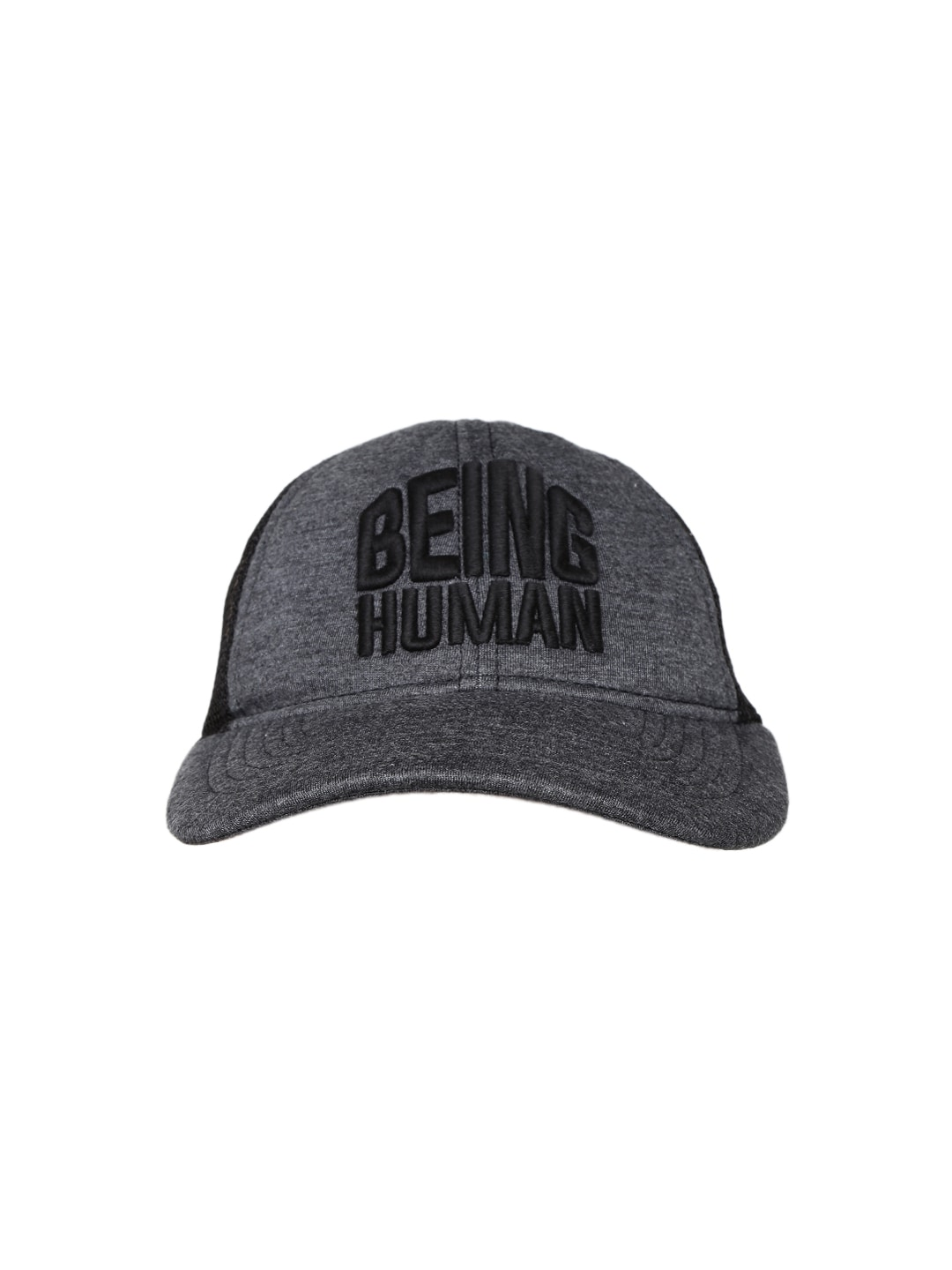 Being human bhc6001-dk-grey Men Charcoal Grey Cap - Best Price in ... e034ca410e0