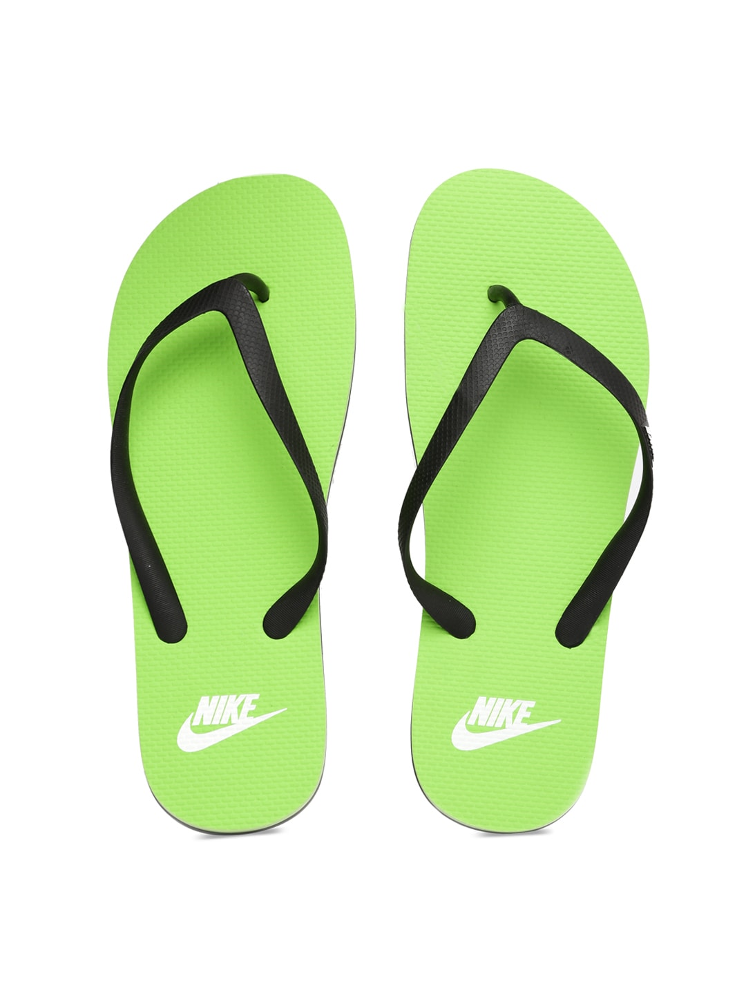 2294d0a5a971e Nike 669587-009 Men Black And Green Aquaswift Thong In Flip Flops- Price in  India