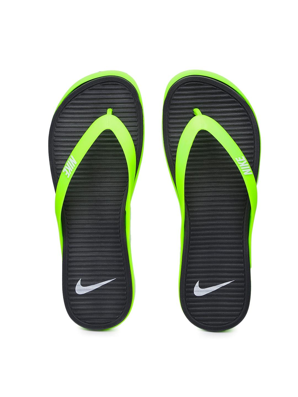 reputable site c0613 25204 Nike 603731-303 Men Neon Green Matira Flip Flops - Best ...