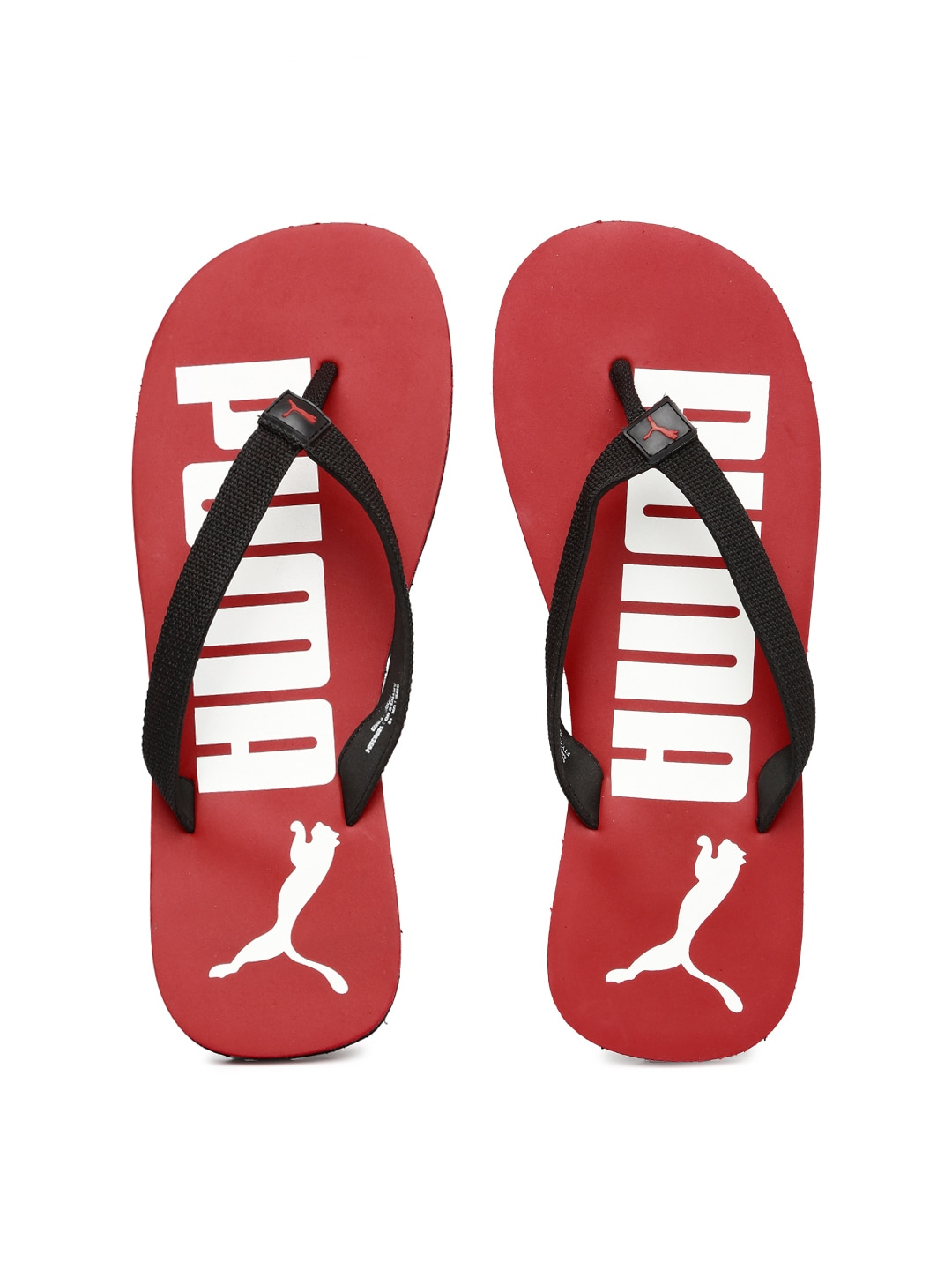 88fd0bd1dc67 Puma 18993504 Men Black And Red Printed Flip Flops - Best Price in ...