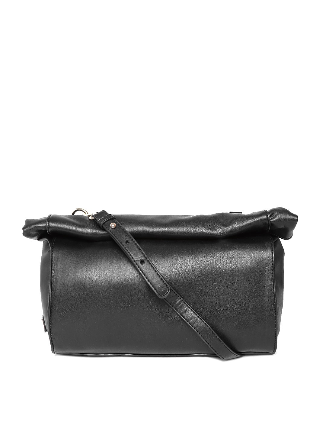 United colors of benetton 15a6pu1d9116i-100 Black Foldable Sling Bag- Price  in India d16eb50a33
