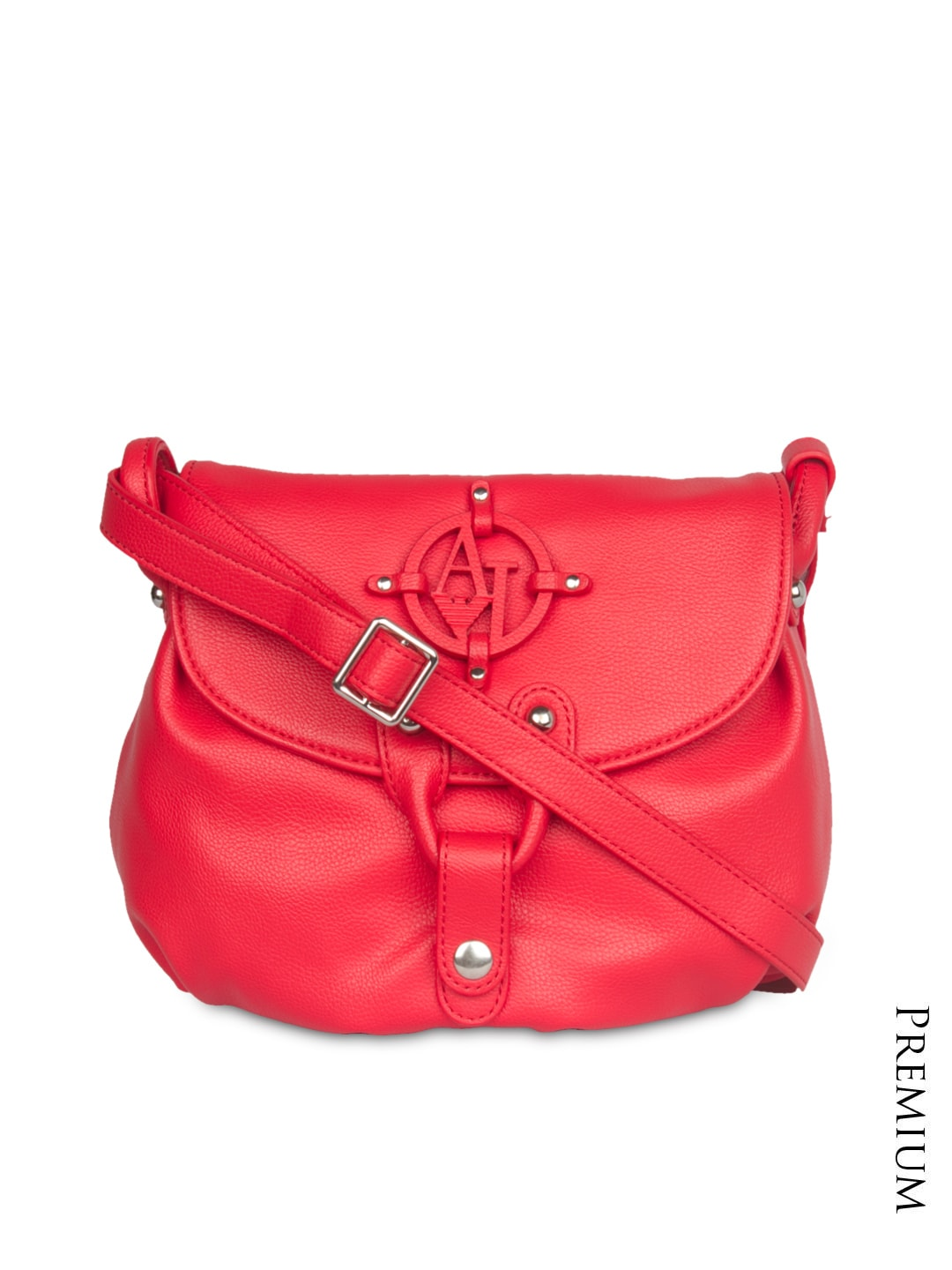 3fd9b0ed24d8 Armani jeans 7287-red Red Sling Bag - Best Price in India