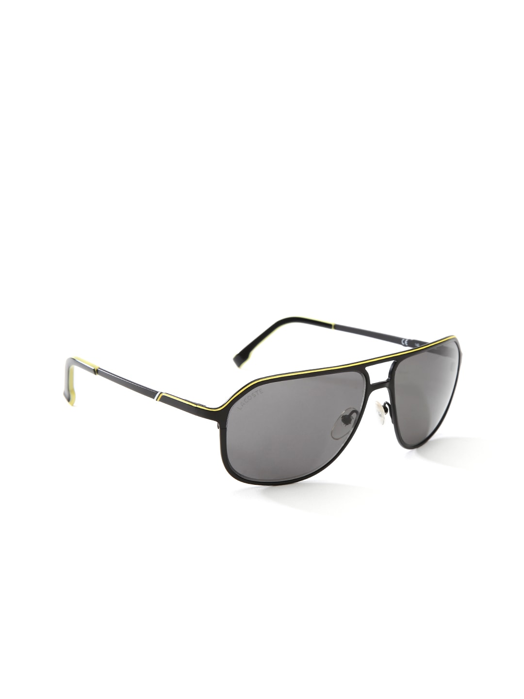 381e7777290 Lacoste l139sp-001-black Unisex Oval Sunglasses L139sp 001- Price in India