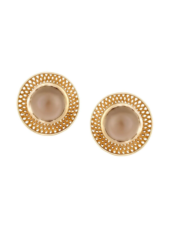Buy Mia By Tanishq 1 97 G 14 Karat Gold Stud Earrings Earrings