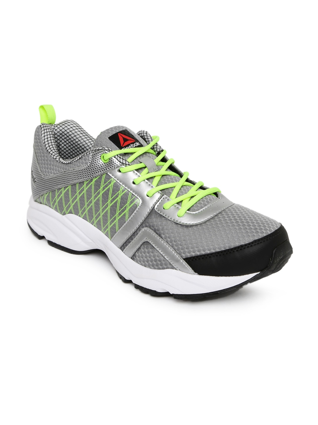 c1e2f3e3f96a1a Reebok ar1345 Men Grey Smooth Flyer 2 0 Running Shoes - Best Price ...