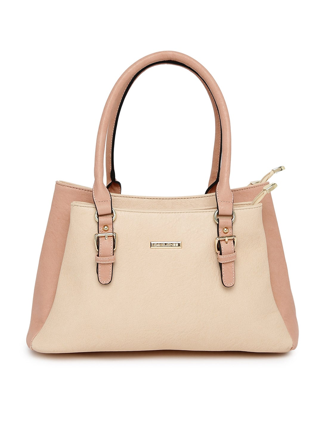 05af66d8c3 David jones dj374-beige Beige And Dusty Pink Handbag - Best Price ...