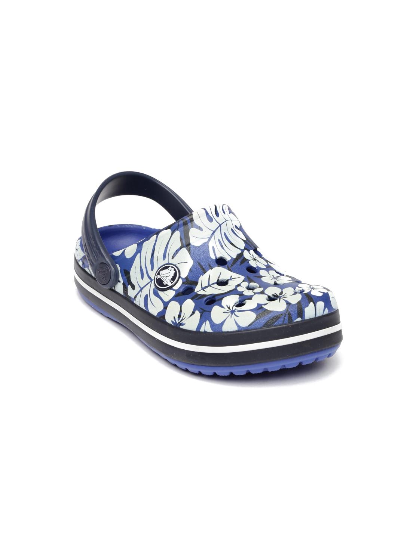 e494934fa Crocs 200373-4bj Kids Blue Printed Clogs - Best Price in India ...