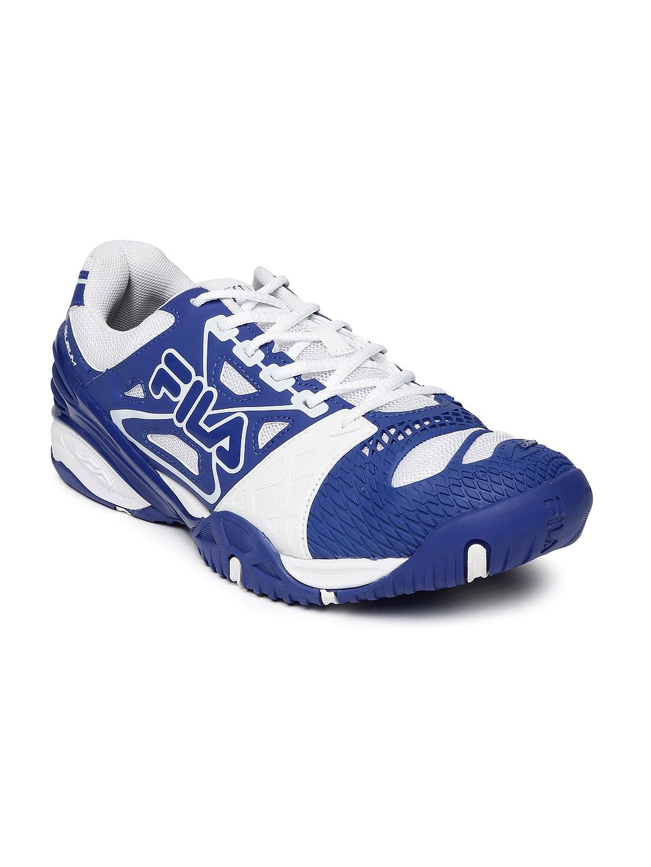 Fila 11003847 Men Blue And White F Cage Delirium Indoor Tennis Shoes- Price  in India 10adf586042b1