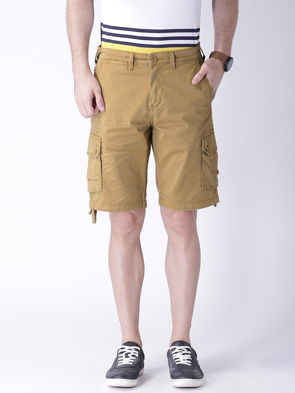 Moda rapido 4c-sh-14a-polish-khaki Khaki Cargo Shorts