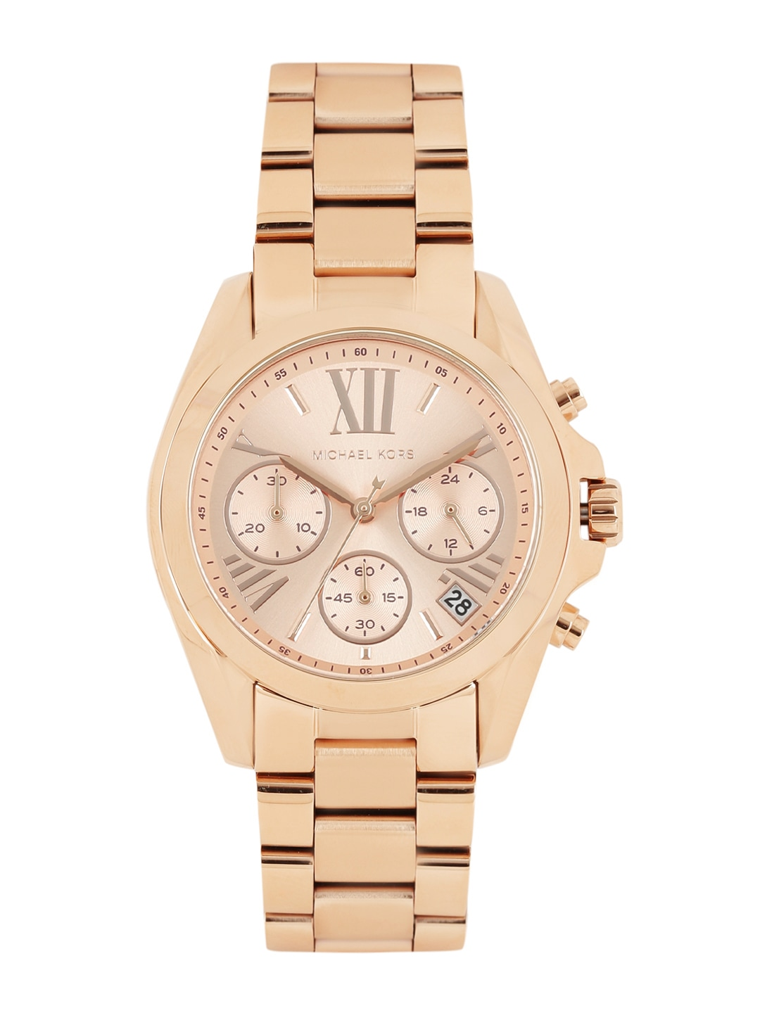 e1f641d50ff5 Michael kors mk5799-rose-gold Women Rose Gold Toned Dial Chronograph Watch  Mk5799- Price in India