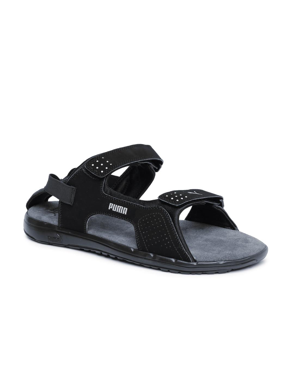 79ae751b410 Puma 18930401 Men Black Endeavour Dp Sports Sandals- Price in India