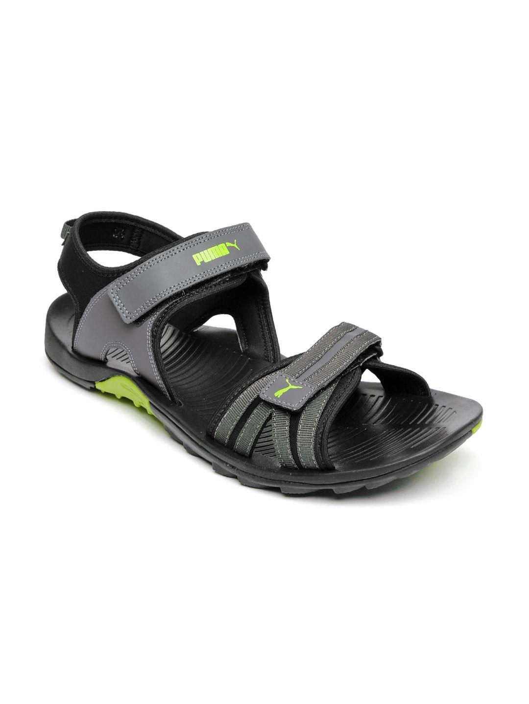 8fa104f2b1f52 Puma 36214102 Unisex Grey Plato Dp Sports Sandals - Best Price in ...