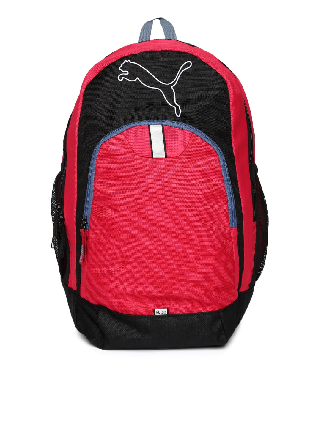 Puma 7378804 Unisex Pink And Black Printed Echo Plus Backpack- Price in  India 0783be08831b7