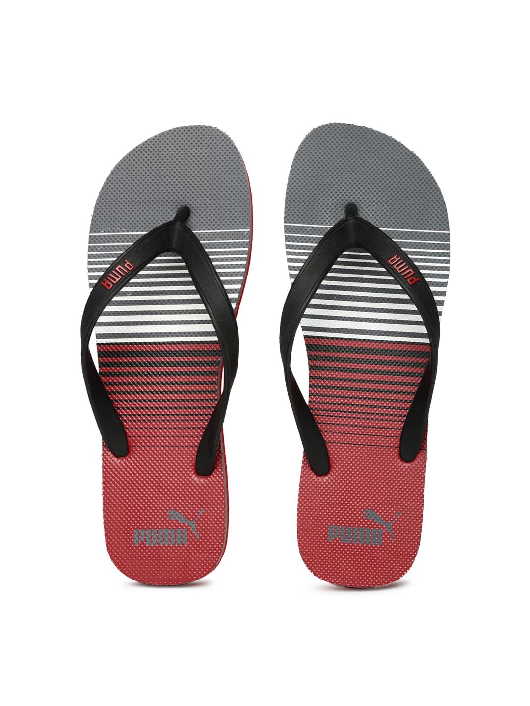 222921a8d Puma 18887209 Men Black And Red Printed Flip Flops - Best Price in ...