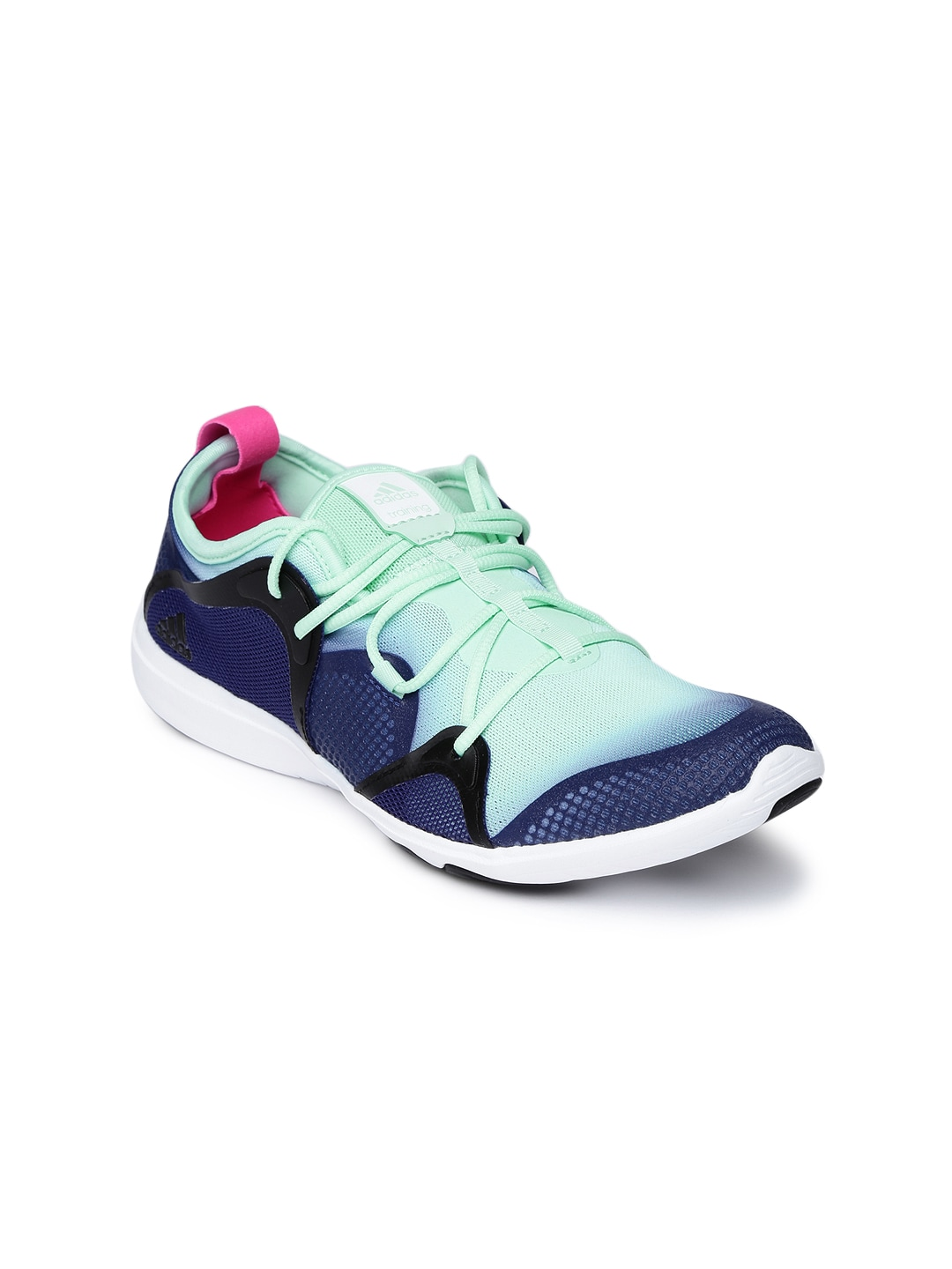 sports shoes bc936 ea244 Adidas aq1942 Women Mint Green And Blue Adipure 360 4 Training Shoes- Price  in India