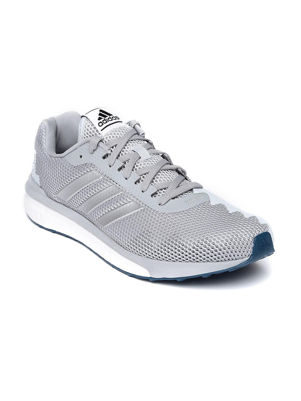 Adidas aq6084 uomini grigi vendicativo scarpe da corsa miglior prezzo in india