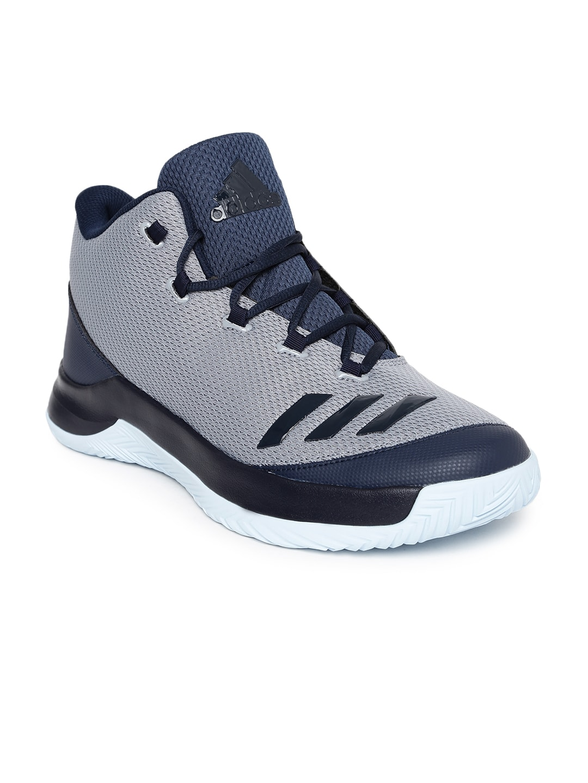 adidas b54110 uomini grigi e marina outrival 2016 scarpe da basket