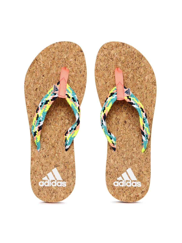 5e38025080c6 Adidas ba5745 Women Multicoloured Flip Flops - Best Price in India ...