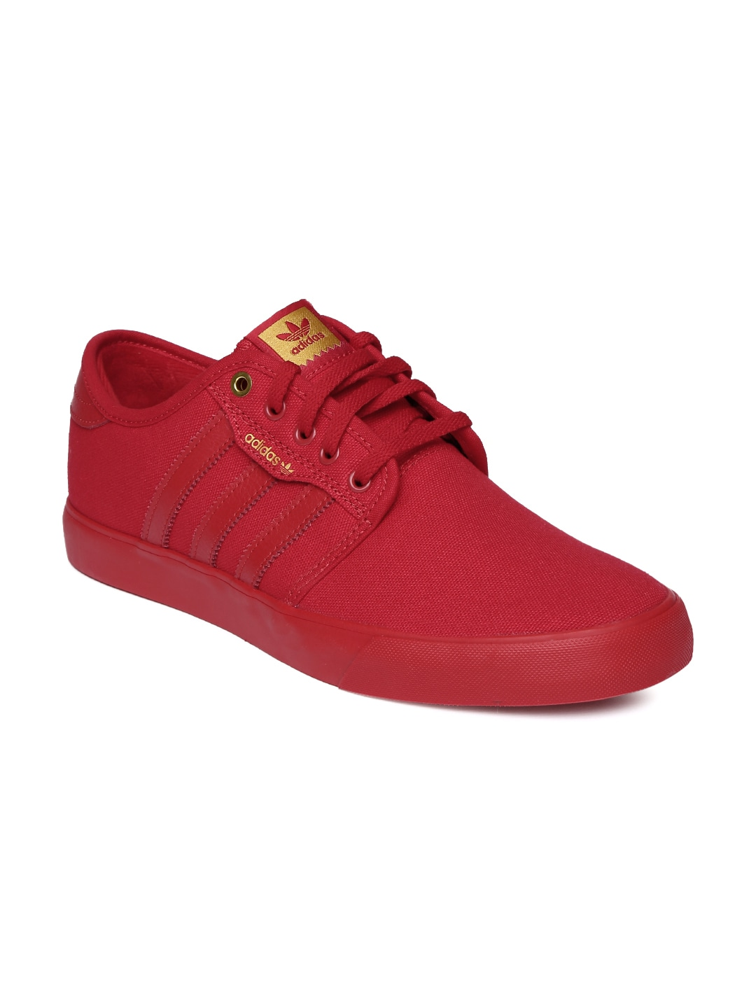 new style adb11 fab49 Adidas b27346 Originals Men Red Seeley Skateboard Shoes- Price in India