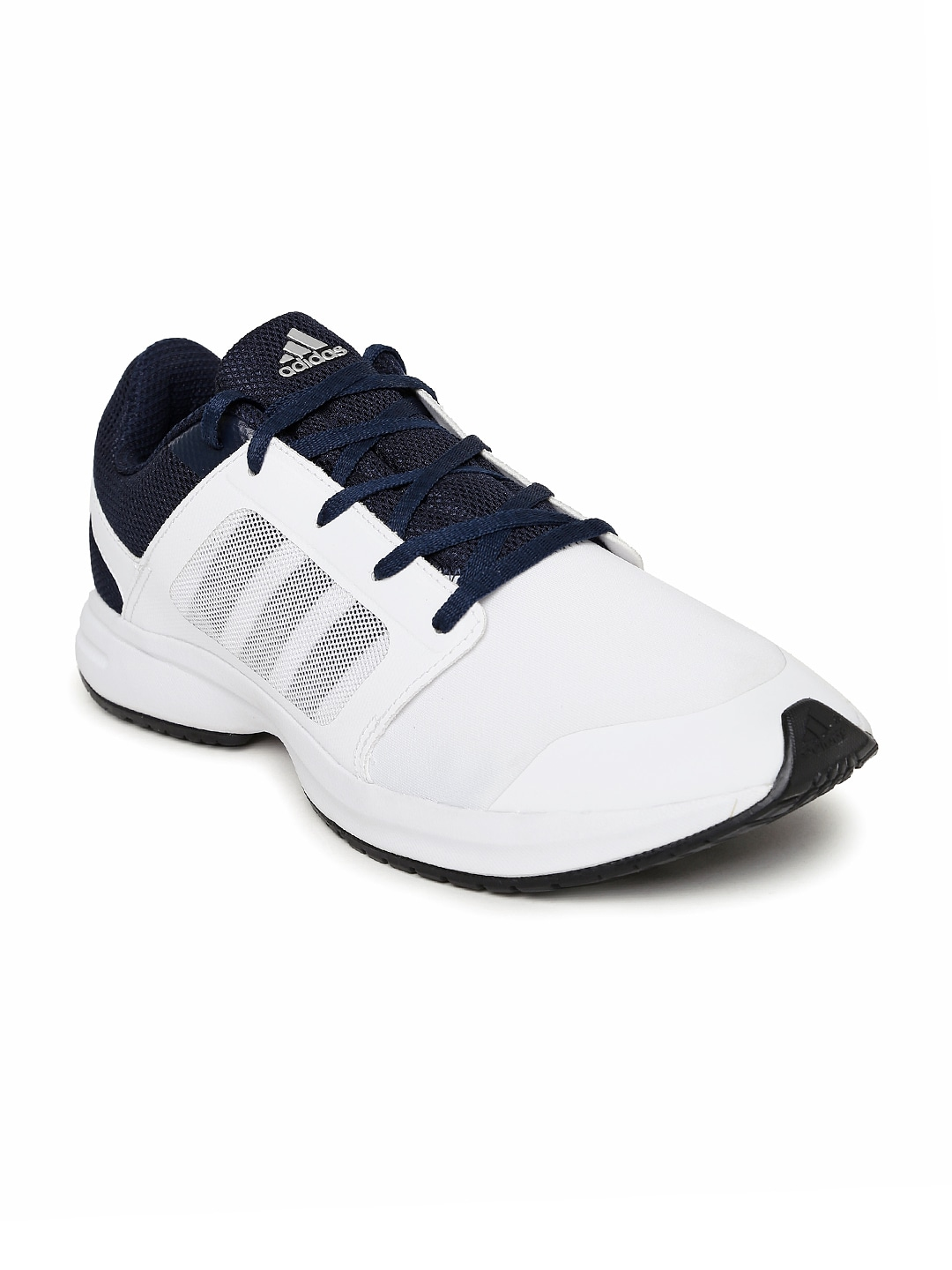 9eb246b1f Adidas ba2809 Men White And Navy Kray 1 0 Running Shoes- Price in India