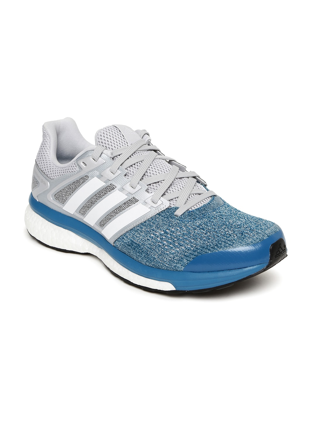 3ea0c4530a8f3 Adidas bb4126 Men Blue And Grey Supernova Glide 8 Running Shoes- Price in  India