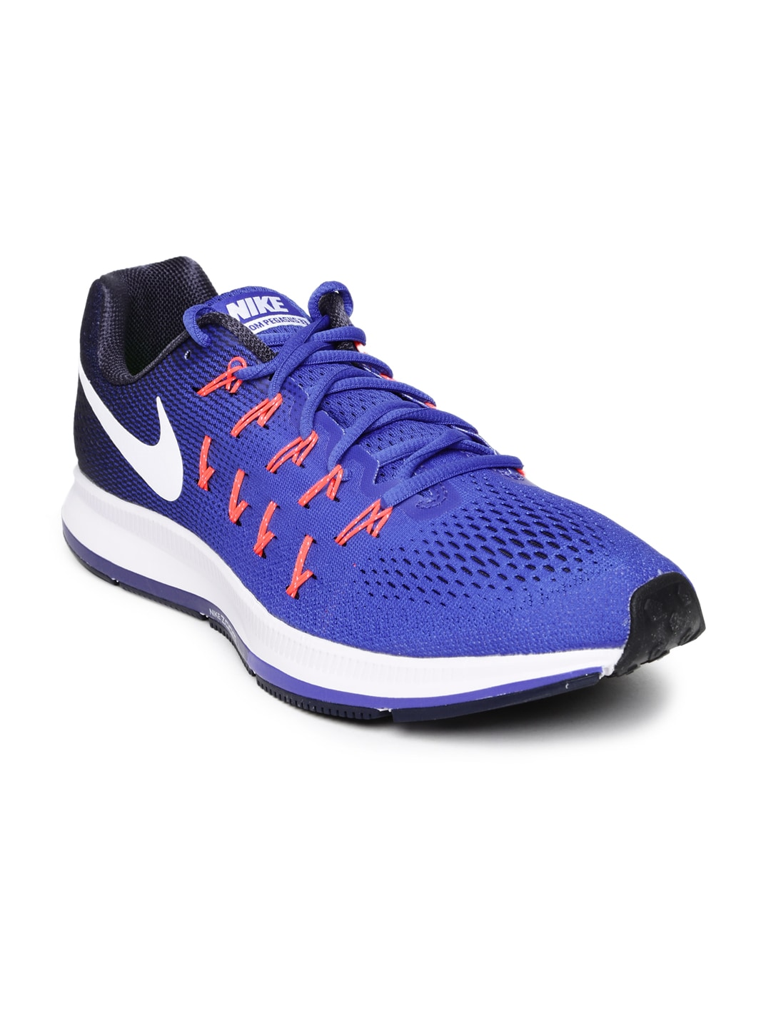 competitive price e536b 97beb Nike 831352-401 Men Blue Air Zoom Pegasus 33 Running Shoes- Price in India