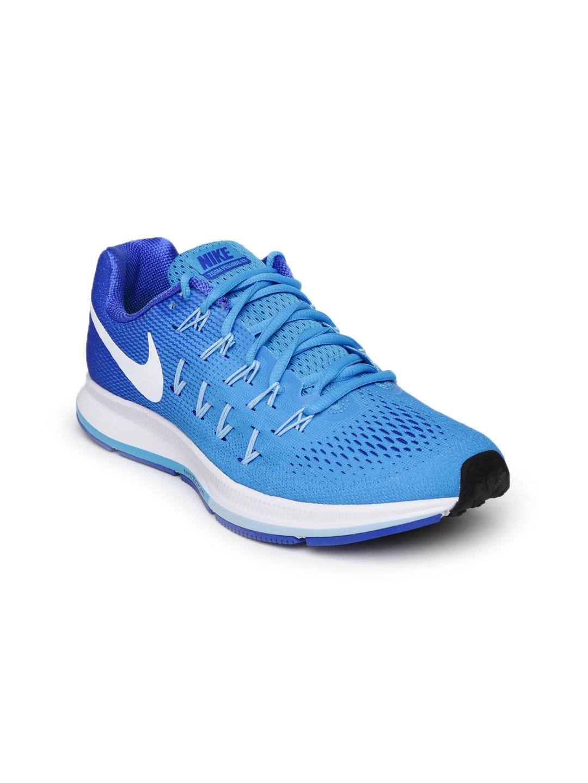 97d0f588181 Nike 831356-401 Women Blue Air Zoom Pegasus 33 Running Shoes- Price in India