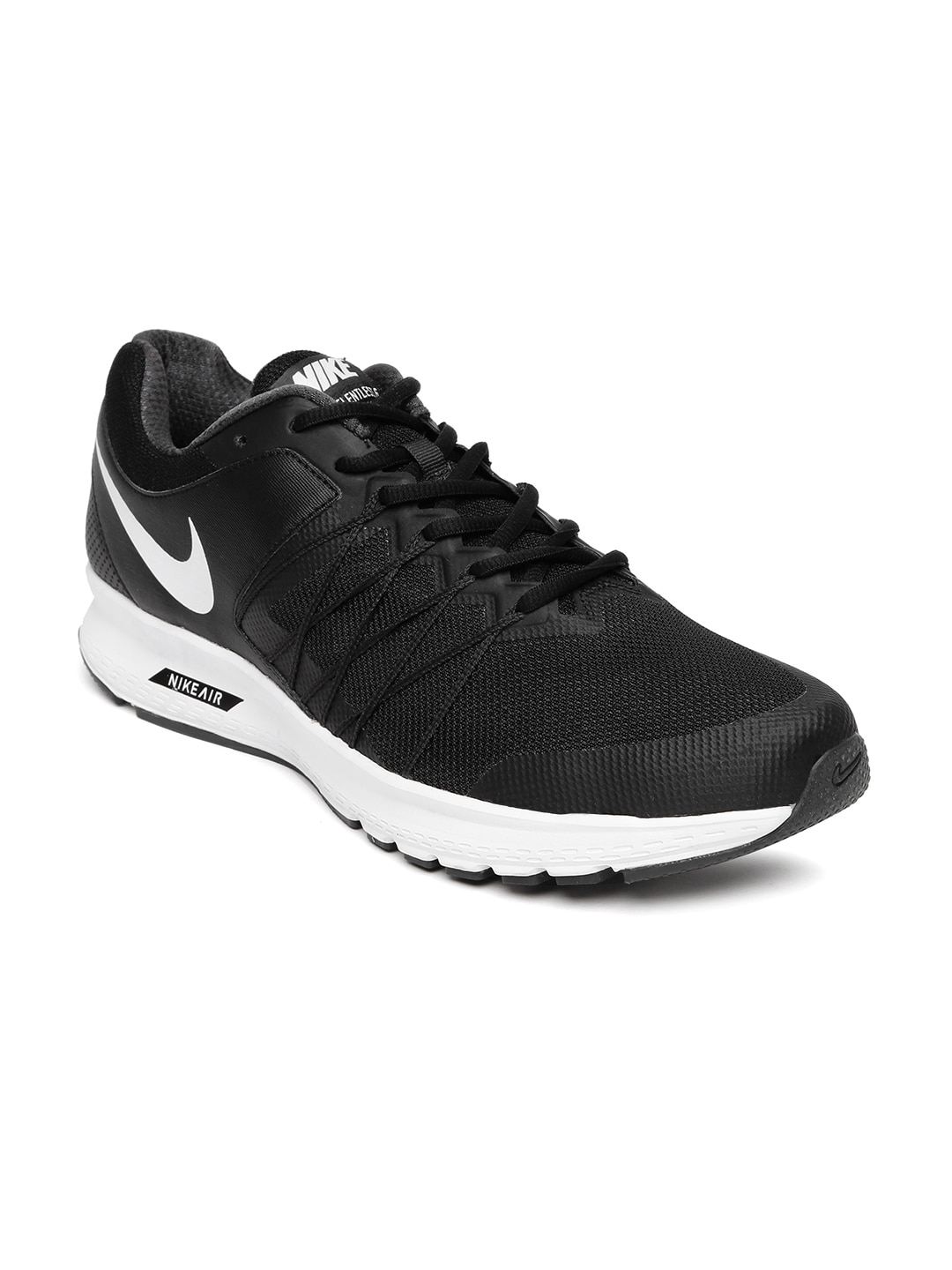 19457910d922a Nike 843881-001 Men Black Air Relentless 6 Msl Running Shoes- Price in India