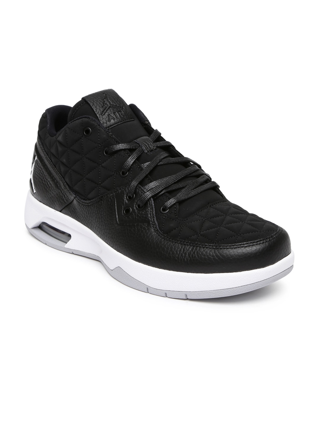 820ac796160229 Nike 845043-010 Men Black Jordan Clutch Leather Basketball Shoes- Price in  India