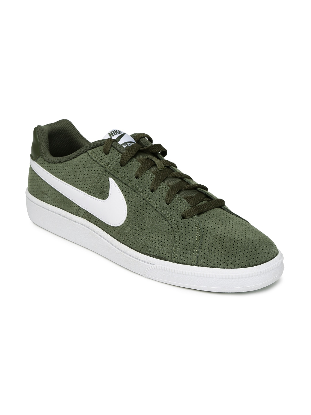 separation shoes 626b8 e8133 Nike 819802-310 Men Olive Green Court Royale Sneakers- Price in India