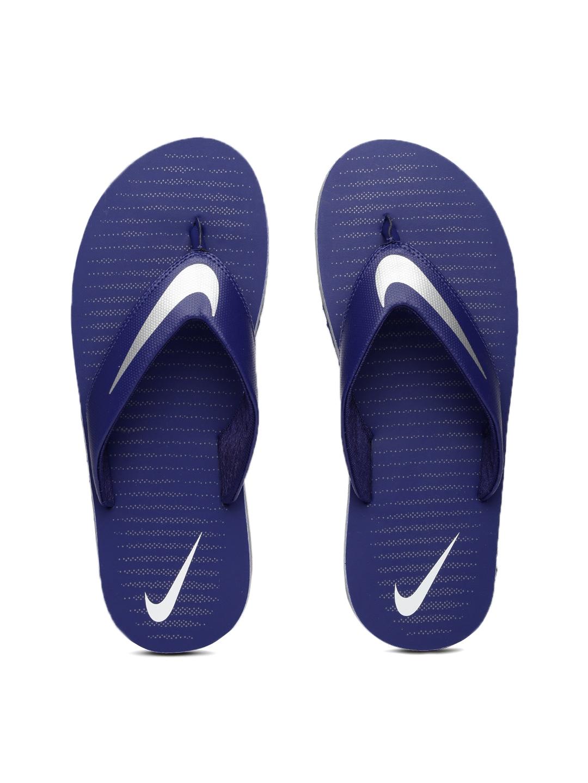 a4b090eded862e Nike 833808-402 Men Blue Printed Chroma Flip Flops - Best Price in ...