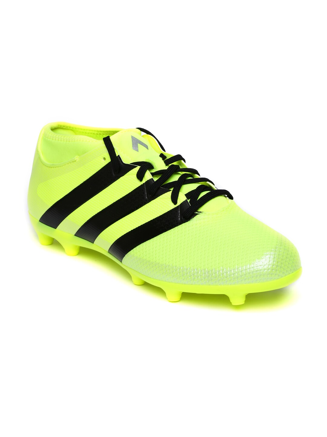 on sale 230a3 8cf18 Adidas aq3439 Men Neon Green Ace 16 3 Primemesh Fg Ag Football Shoes- Price  in India
