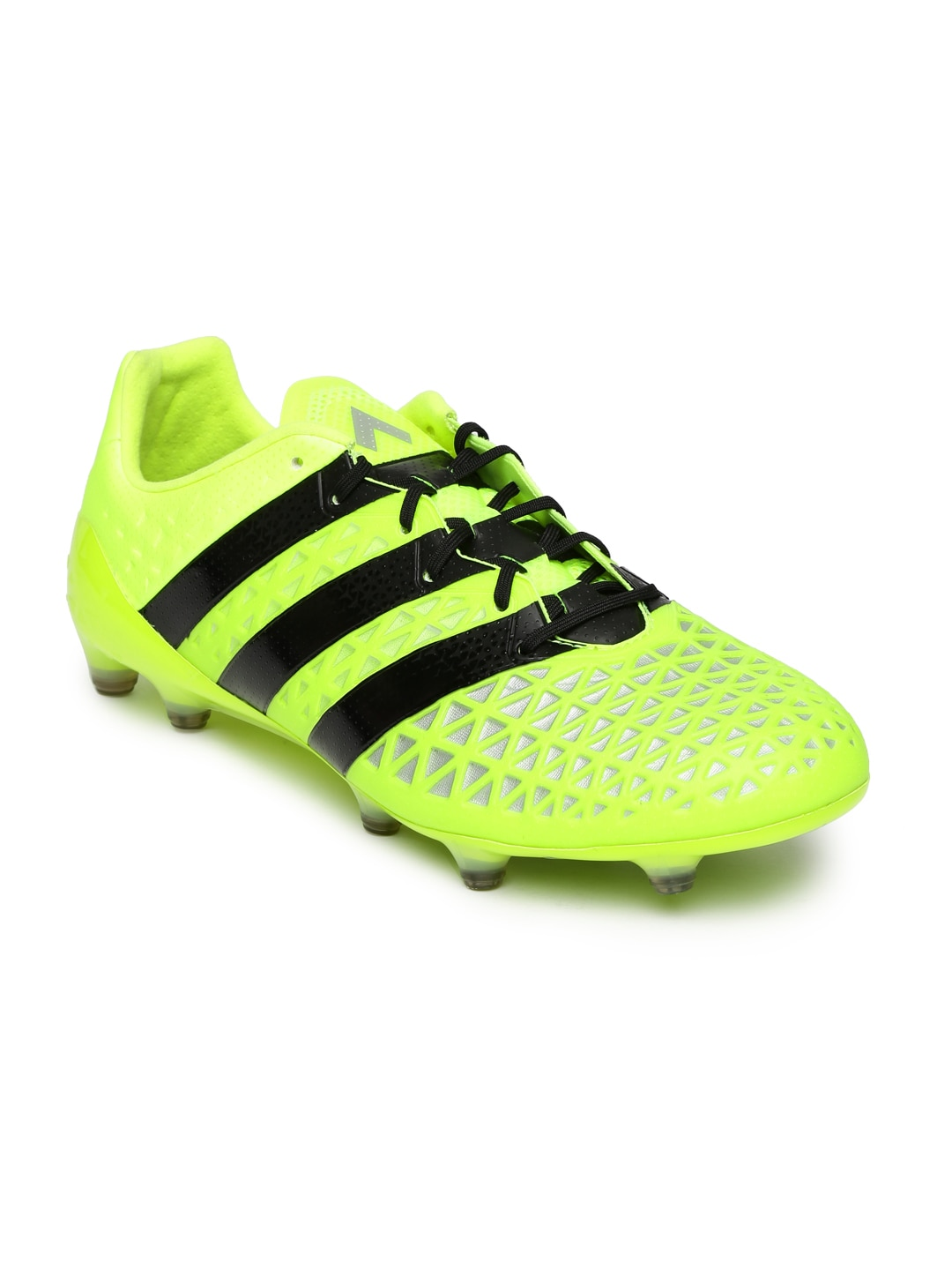 881a369b7 Adidas s79663 Men Neon Green Ace 16 1 Fg Football Shoes- Price in India