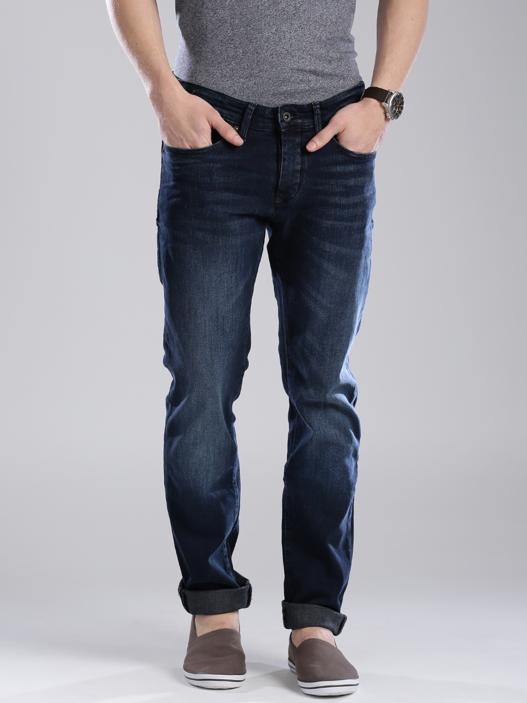 96642ab9 Tommy hilfiger a6atd009 Navy Slim Scanton Fit Jeans - Best Price in ...