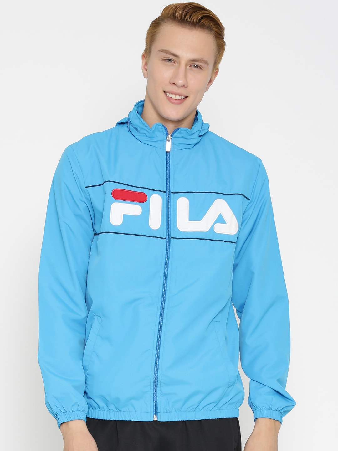 Fila 12004308 Blue Gareth Hooded Jacket - Best Price in India ...