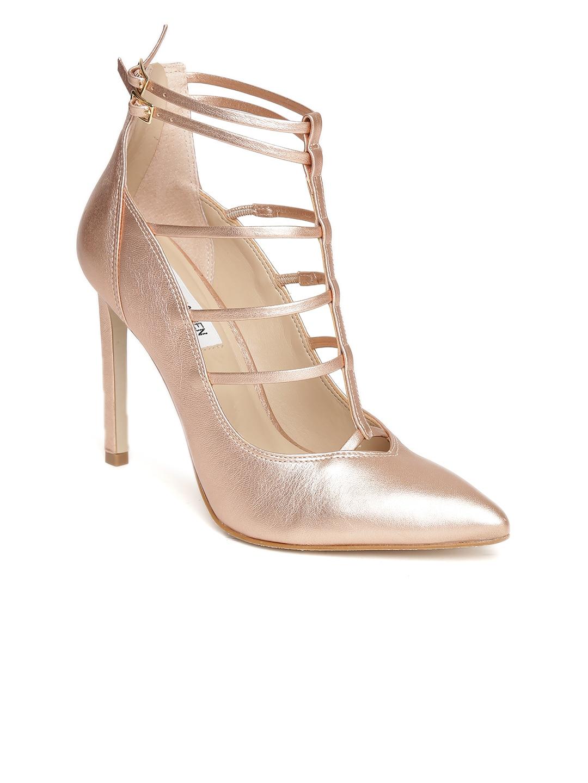 24ddfc70ebac Buy Steve Madden Women Pink Snakeskin Print Pumps - Heels for Women ...