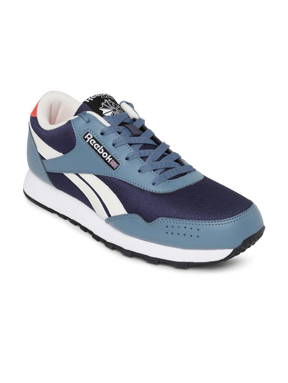 b5b0f19f47a Reebok bd3446 Men Blue Classic Protonium Sports Shoes- Price in India