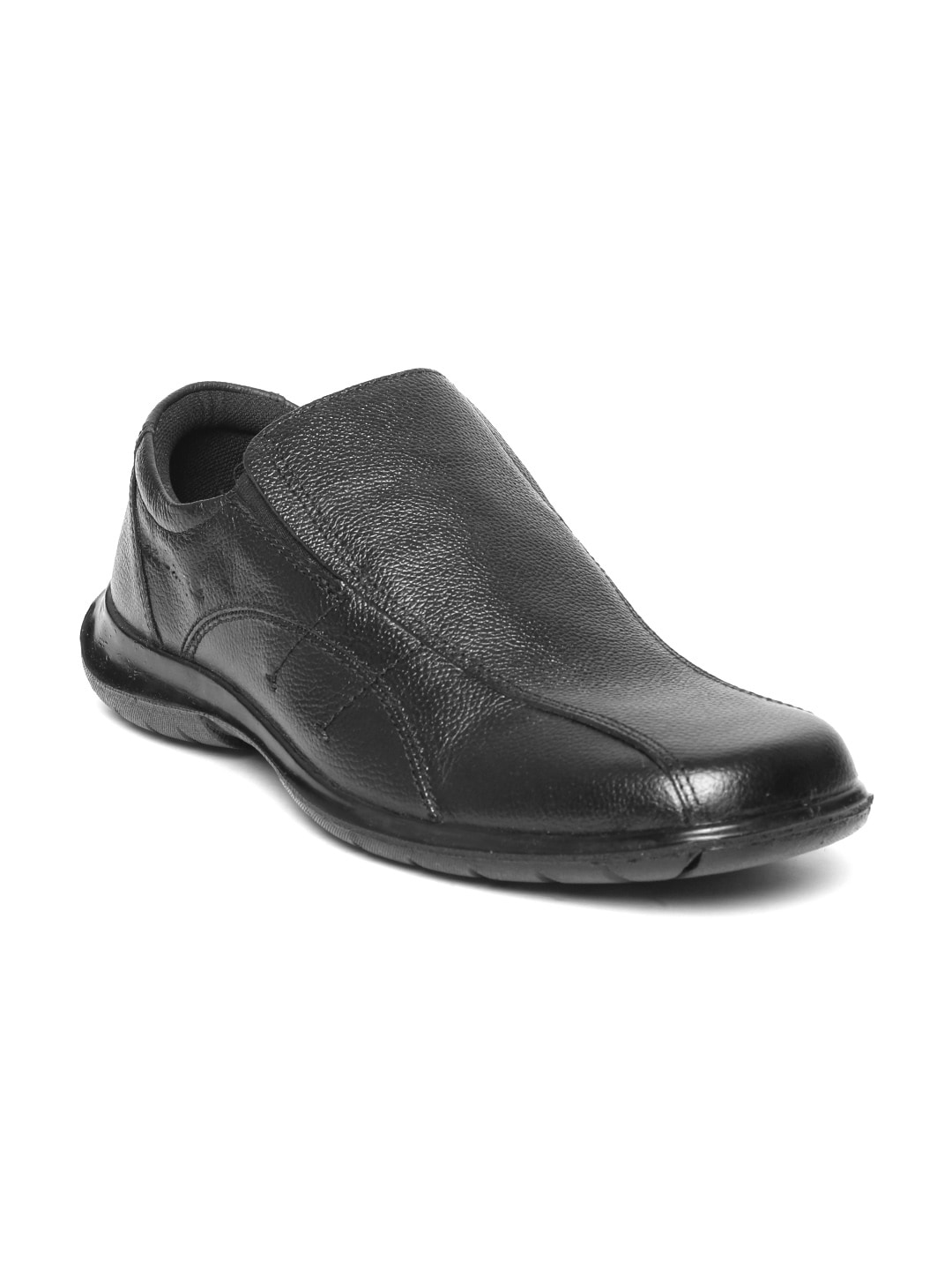 881a80f3783 Red tape rts7301b-black Men Black Leather Textured Loafers- Price in India