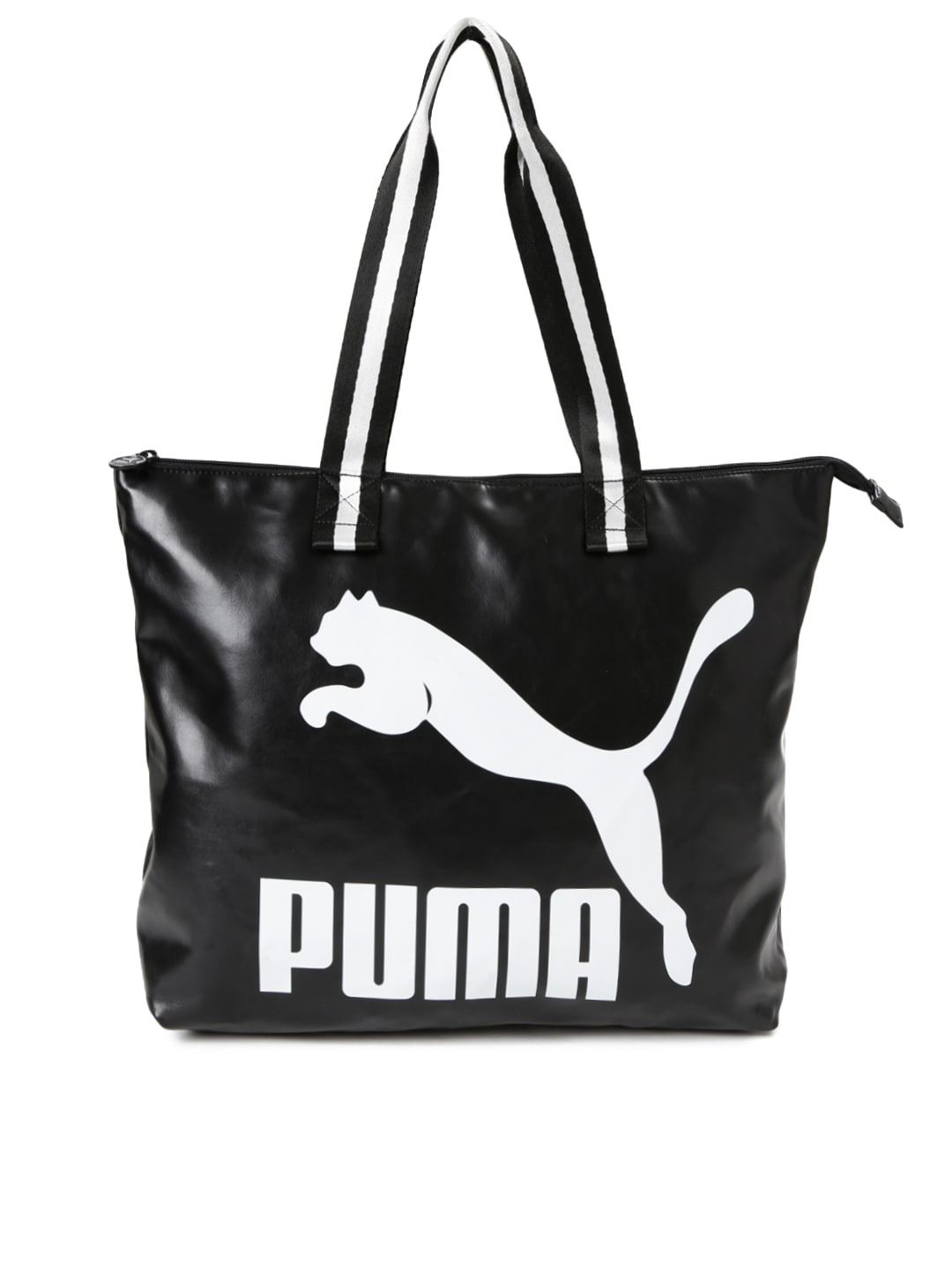 60616132a067 Puma 7423201 Black Printed Tote Bag - Best Price in India