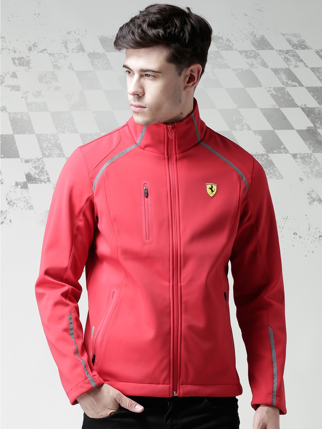 02532549013dea Ferrari 15044-red Scuderia Red New 3 Layer Rain Jacket - Best Price ...