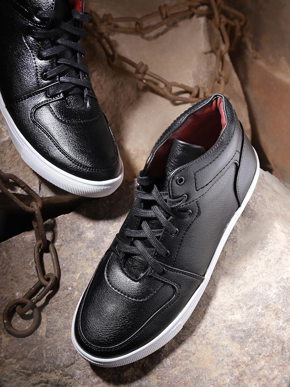 6ea33b3e2b2 Buy Roadster Women Black Sneakers - Casual Shoes for Women 2486061 ...