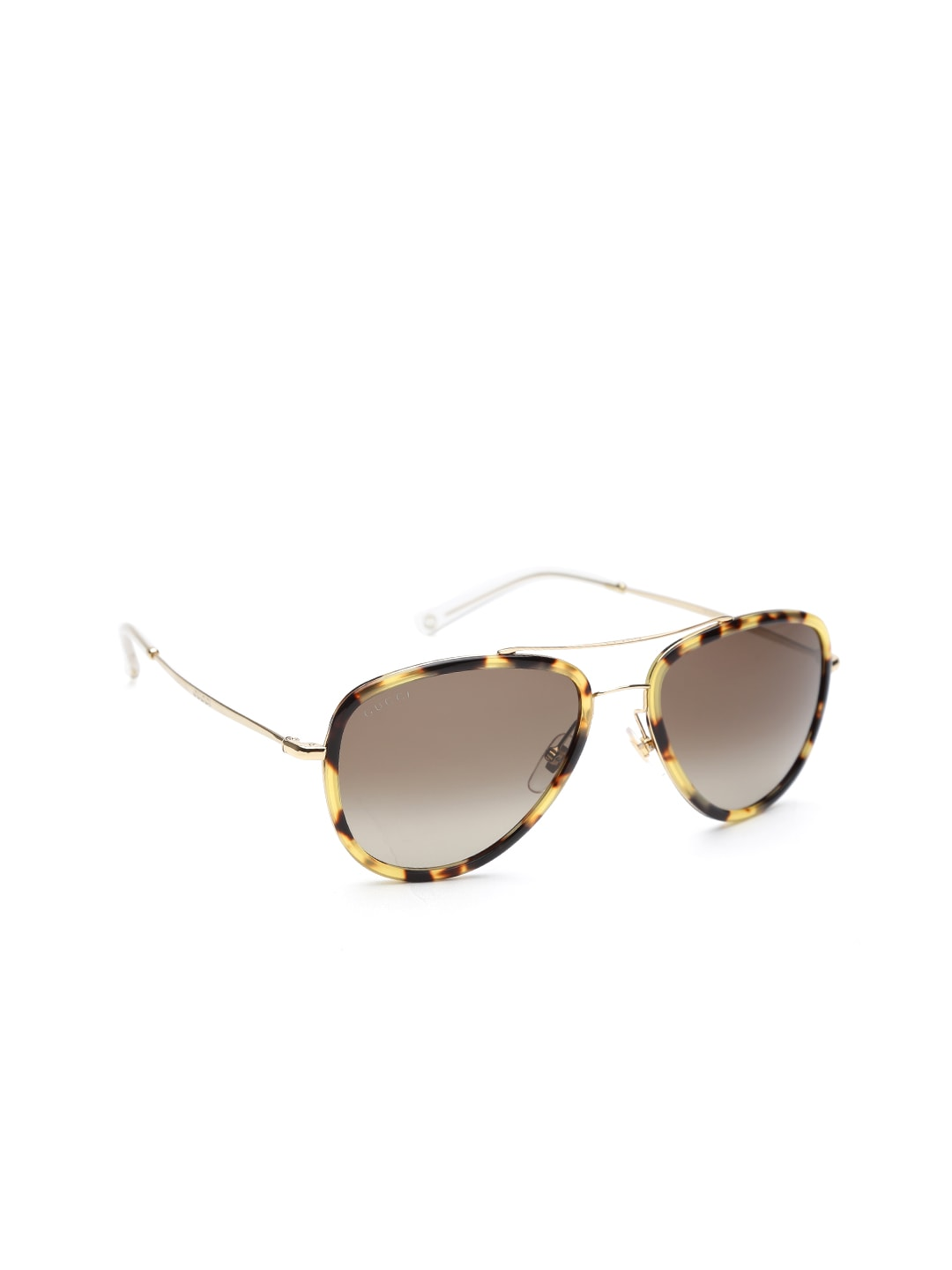 f9a30eefc20aa Gucci myn1443727 Unisex Printed Aviator Sunglasses Gg 2245 N S H81ha- Price  in India