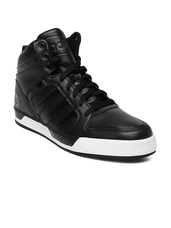 Price Neo Top Sneakers Best In Black Aw4990 High Adidas Men ZOiPukXT