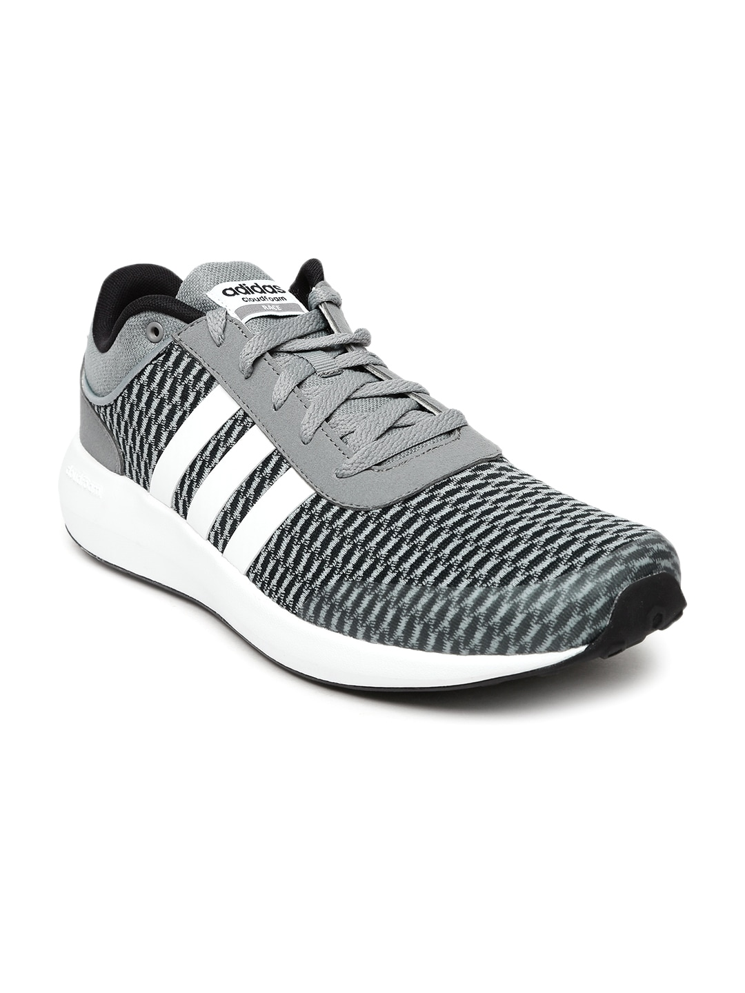 ed3a0909f887ad Adidas neo aw5327 Men Grey Cloudfoam Race Sneakers - Best Price ...